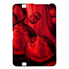Red Bubbles Kindle Fire HD 8.9  Hardshell Case