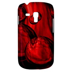 Red Bubbles Samsung Galaxy S3 MINI I8190 Hardshell Case