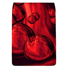Red Bubbles Removable Flap Cover (Large)