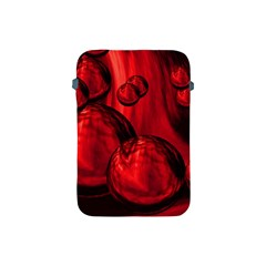 Red Bubbles Apple iPad Mini Protective Soft Case