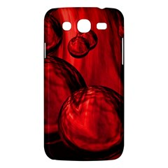 Red Bubbles Samsung Galaxy Mega 5 8 I9152 Hardshell Case