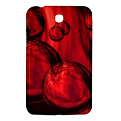 Red Bubbles Samsung Galaxy Tab 3 (7 ) P3200 Hardshell Case