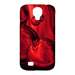 Red Bubbles Samsung Galaxy S4 Classic Hardshell Case (PC+Silicone)