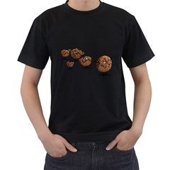 Zombie Cookie Mens' Two Sided T Shirt (black)