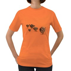 Zombie Cookie Womens' T Shirt (colored)