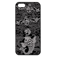 Form Of Auspiciousness Apple Iphone 5 Seamless Case (black)