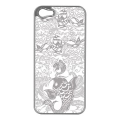 Form Of Auspiciousness Apple Iphone 5 Case (silver)