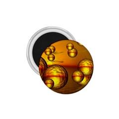 Sunset Bubbles 1.75  Button Magnet