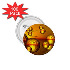 Sunset Bubbles 1 75  Button (100 Pack)
