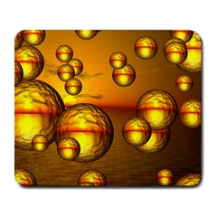 Sunset Bubbles Large Mouse Pad (Rectangle)