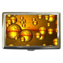 Sunset Bubbles Cigarette Money Case