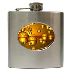 Sunset Bubbles Hip Flask