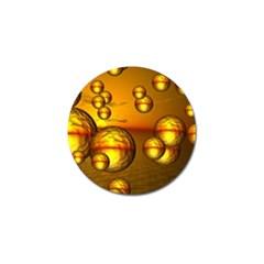 Sunset Bubbles Golf Ball Marker 4 Pack