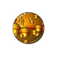 Sunset Bubbles Golf Ball Marker 10 Pack (for Hat Clip)