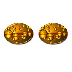 Sunset Bubbles Cufflinks (oval)