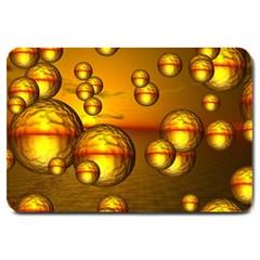 Sunset Bubbles Large Door Mat