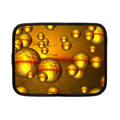Sunset Bubbles Netbook Case (Small)