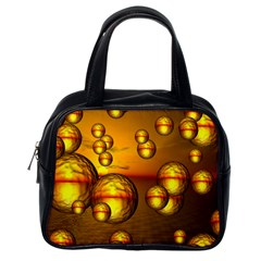 Sunset Bubbles Classic Handbag (One Side)