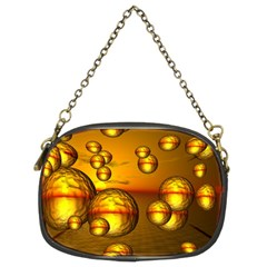 Sunset Bubbles Chain Purse (two Sided)