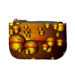 Sunset Bubbles Coin Change Purse