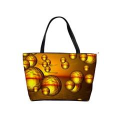Sunset Bubbles Large Shoulder Bag