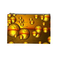 Sunset Bubbles Cosmetic Bag (Large)