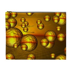 Sunset Bubbles Cosmetic Bag (XL)