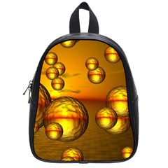 Sunset Bubbles School Bag (Small)