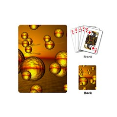 Sunset Bubbles Playing Cards (mini)