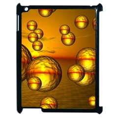 Sunset Bubbles Apple Ipad 2 Case (black)