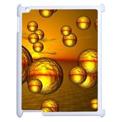 Sunset Bubbles Apple iPad 2 Case (White)