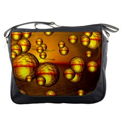 Sunset Bubbles Messenger Bag