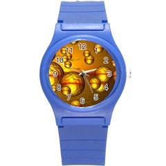 Sunset Bubbles Plastic Sport Watch (Small)