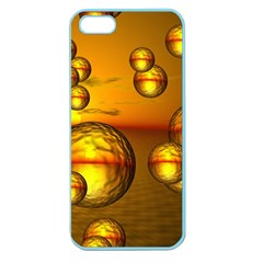 Sunset Bubbles Apple Seamless Iphone 5 Case (color)