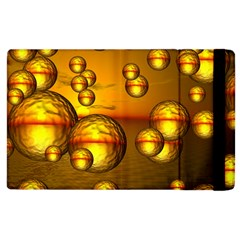 Sunset Bubbles Apple iPad 3/4 Flip Case