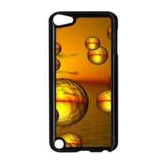 Sunset Bubbles Apple iPod Touch 5 Case (Black)