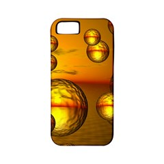 Sunset Bubbles Apple Iphone 5 Classic Hardshell Case (pc+silicone)