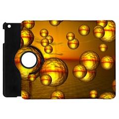 Sunset Bubbles Apple iPad Mini Flip 360 Case