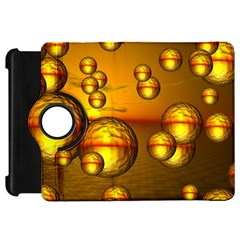 Sunset Bubbles Kindle Fire HD 7  Flip 360 Case