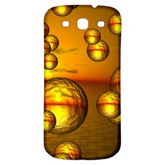 Sunset Bubbles Samsung Galaxy S3 S III Classic Hardshell Back Case