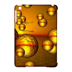 Sunset Bubbles Apple iPad Mini Hardshell Case (Compatible with Smart Cover)