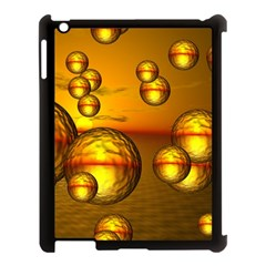 Sunset Bubbles Apple Ipad 3/4 Case (black)