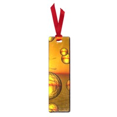 Sunset Bubbles Small Bookmark