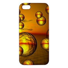 Sunset Bubbles iPhone 5 Premium Hardshell Case