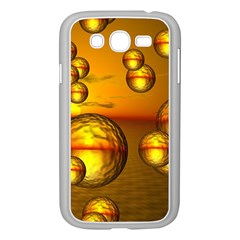 Sunset Bubbles Samsung Galaxy Grand DUOS I9082 Case (White)