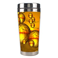 Sunset Bubbles Stainless Steel Travel Tumbler