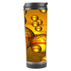Sunset Bubbles Travel Tumbler