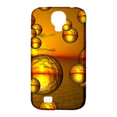 Sunset Bubbles Samsung Galaxy S4 Classic Hardshell Case (PC+Silicone)