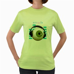Smeyel s Womens  T Shirt (green)