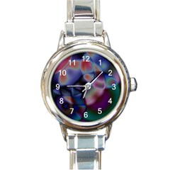 Multi-colour Round Italian Charm Watch